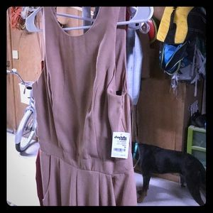 NEVER BEEN WORN, Charlotte Russe, nude jumpsuit.